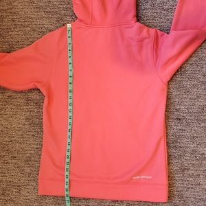 Under Armour Tops - Under Armour Coral Pink Camo Performance Hoodie